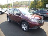 2014 Basque Red Pearl II Honda CR-V LX AWD #86451203