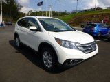 2014 White Diamond Pearl Honda CR-V EX AWD #86451201