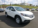 2014 White Diamond Pearl Honda CR-V LX AWD #86451200