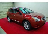 2012 Cayenne Red Nissan Rogue SV #86450823