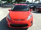 2013 Race Red Ford Fiesta SE Hatchback #86450725
