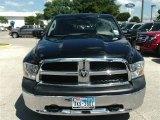 2010 Brilliant Black Crystal Pearl Dodge Ram 1500 ST Quad Cab #86450715