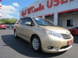 2011 Sandy Beach Metallic Toyota Sienna XLE #86450712