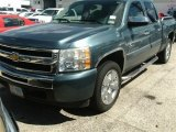2009 Blue Granite Metallic Chevrolet Silverado 1500 LT Texas Edition Extended Cab #86450702
