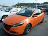 2013 Header Orange Dodge Dart SXT #86451067
