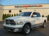2012 Bright White Dodge Ram 1500 Laramie Crew Cab 4x4 #86451269