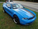 2011 Grabber Blue Ford Mustang GT/CS California Special Coupe #86450574