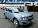 2014 Silver Topaz Metallic Chevrolet Equinox LS AWD #86451257