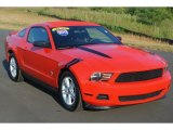 2012 Race Red Ford Mustang V6 Coupe #86451144