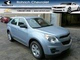 2014 Silver Topaz Metallic Chevrolet Equinox LS #86451253