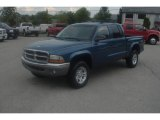 2003 Atlantic Blue Pearlcoat Dodge Dakota SLT Quad Cab 4x4 #86451142
