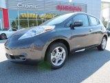 2013 Metallic Slate Nissan LEAF SV #86451038