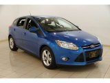 2012 Blue Candy Metallic Ford Focus SE Sport 5-Door #86451131