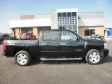 2007 Black Chevrolet Silverado 1500 LTZ Crew Cab 4x4 #86451234