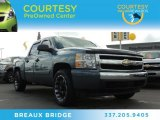 2008 Blue Granite Metallic Chevrolet Silverado 1500 LS Crew Cab #86451229