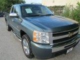 2009 Blue Granite Metallic Chevrolet Silverado 1500 LT Extended Cab #86505131