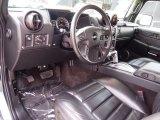 2006 Hummer H2 SUV Ebony Interior