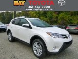2013 Blizzard White Pearl Toyota RAV4 Limited AWD #86505117