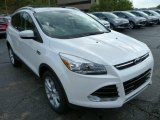 2014 Oxford White Ford Escape Titanium 2.0L EcoBoost 4WD #86505194