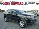 2011 Ebony Black Kia Sorento LX AWD #86505324