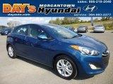 2013 Windy Sea Blue Hyundai Elantra GT #86505356