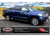2014 Blue Ribbon Metallic Toyota Tundra Platinum Crewmax 4x4 #86505061