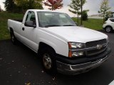 2004 Summit White Chevrolet Silverado 1500 Regular Cab #86527299