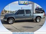 2007 Blue Granite Metallic Chevrolet Silverado 1500 Classic LS Crew Cab 4x4 #86527278