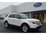 2014 White Platinum Ford Explorer XLT #86530655