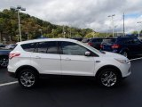 2013 White Platinum Metallic Tri-Coat Ford Escape SEL 2.0L EcoBoost 4WD #86530601