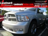 2012 Bright Silver Metallic Dodge Ram 1500 Sport Quad Cab #86530649