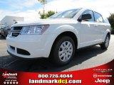 2014 White Dodge Journey Amercian Value Package #86530643