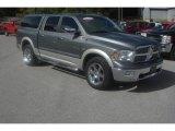2010 Mineral Gray Metallic Dodge Ram 1500 Laramie Crew Cab 4x4 #86530797