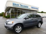 2011 Polished Metal Metallic Honda CR-V EX 4WD #86530696