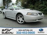 2001 Silver Metallic Ford Mustang GT Convertible #86530740