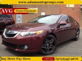 2009 Basque Red Pearl Acura TSX Sedan #86530735