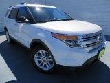 2011 White Platinum Tri-Coat Ford Explorer XLT #86530731