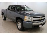 2008 Blue Granite Metallic Chevrolet Silverado 1500 LT Extended Cab 4x4 #86530767