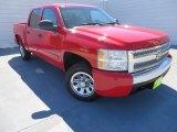 2008 Victory Red Chevrolet Silverado 1500 LT Crew Cab #86530727