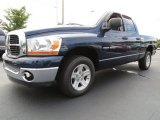 2006 Patriot Blue Pearl Dodge Ram 1500 SLT Quad Cab #86530821