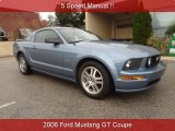 2006 Windveil Blue Metallic Ford Mustang GT Premium Coupe #86530713