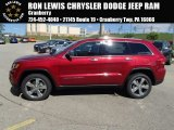 2014 Deep Cherry Red Crystal Pearl Jeep Grand Cherokee Limited 4x4 #86558978