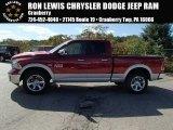 2014 Deep Cherry Red Crystal Pearl Ram 1500 Laramie Quad Cab 4x4 #86558977