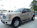 2013 Pale Adobe Metallic Ford F150 XLT SuperCrew 4x4 #86558956