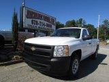 2008 Summit White Chevrolet Silverado 1500 Work Truck Regular Cab #86559273