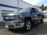 2014 Blue Granite Metallic Chevrolet Silverado 1500 LT Z71 Double Cab #86559030