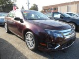2011 Bordeaux Reserve Metallic Ford Fusion SEL V6 AWD #86559448