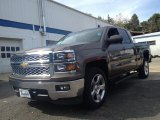 2014 Brownstone Metallic Chevrolet Silverado 1500 LT Double Cab #86559029