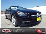 2014 Black Mercedes-Benz SLK 250 Roadster #86559023