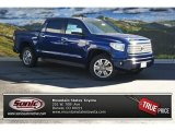 2014 Blue Ribbon Metallic Toyota Tundra Platinum Crewmax 4x4 #86558720